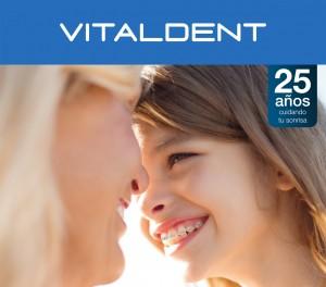 Imagen de una campaña publicitaria de Vitaldent.