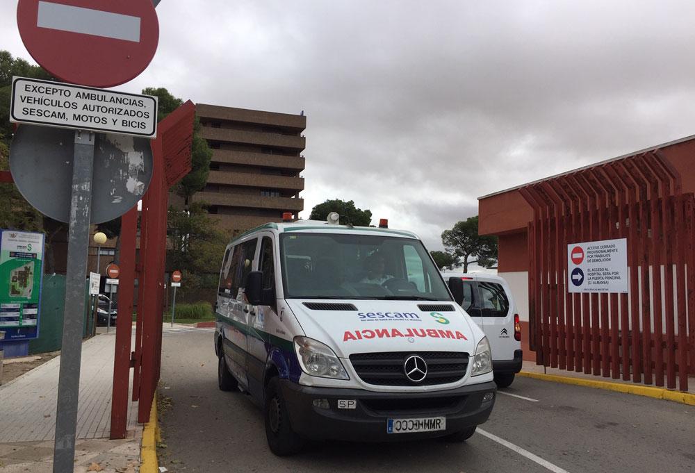 transporte sanitario SSG