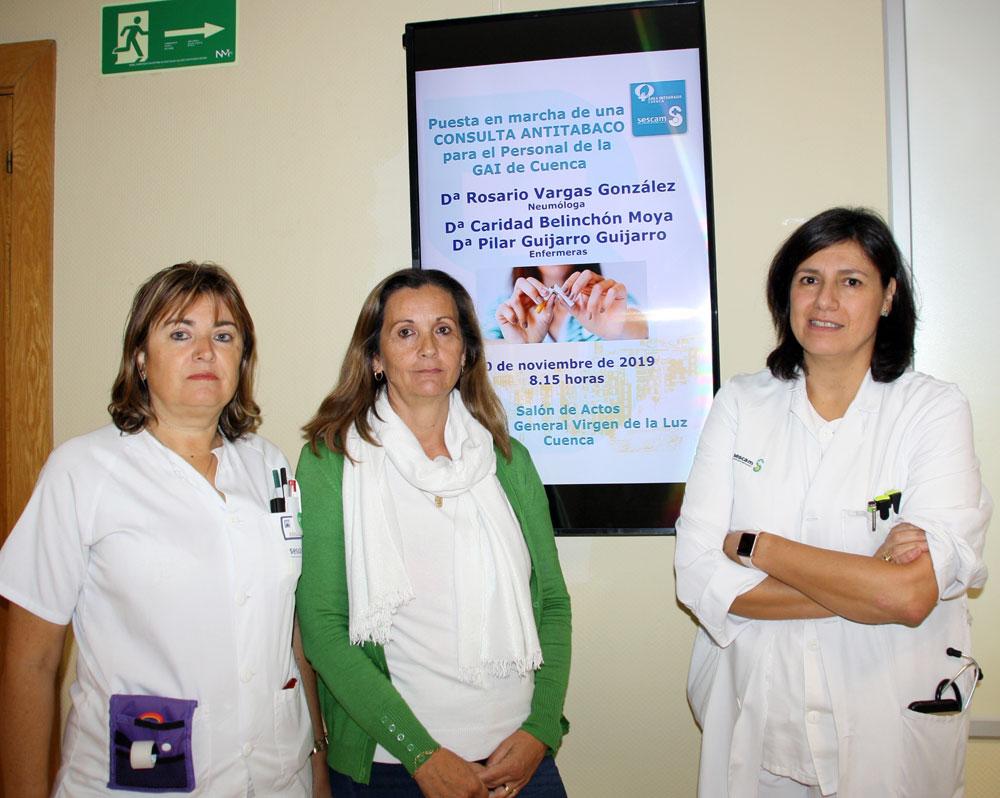 consulta tabaquismo Cuenca