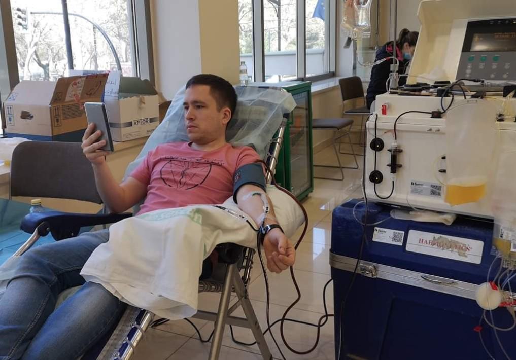 Donantes Sangre Hotel Los Llanos