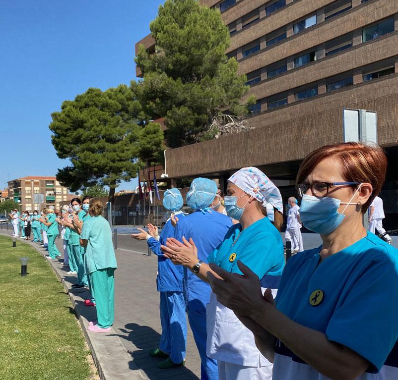 abrazo hospital general Albacete